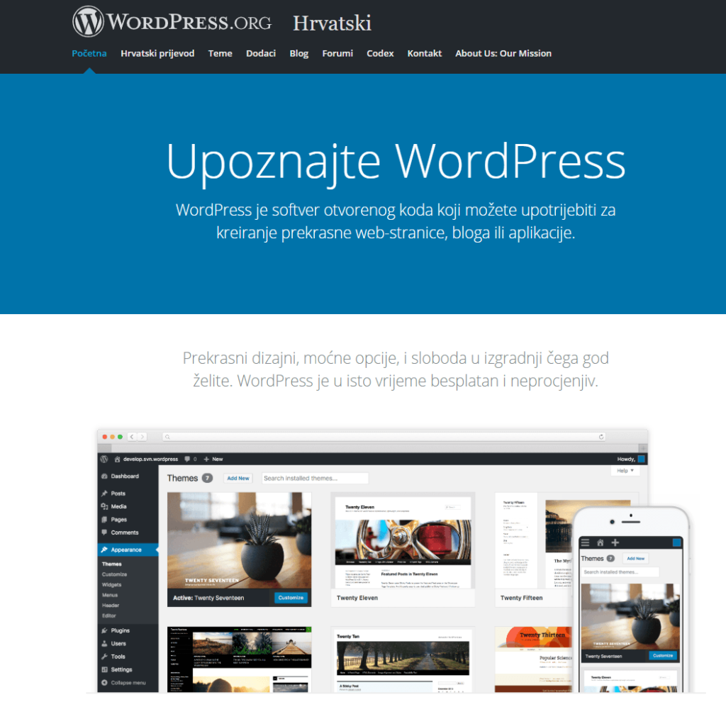 preuzimanje wordpress-a