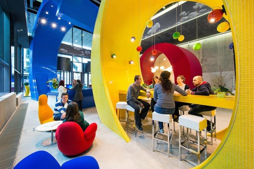 zaposlenici u google uredu
