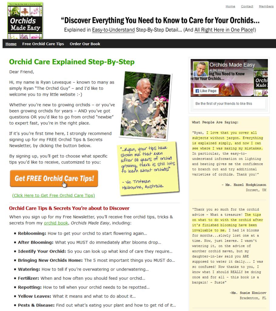 kako uzgojiti orhideja
