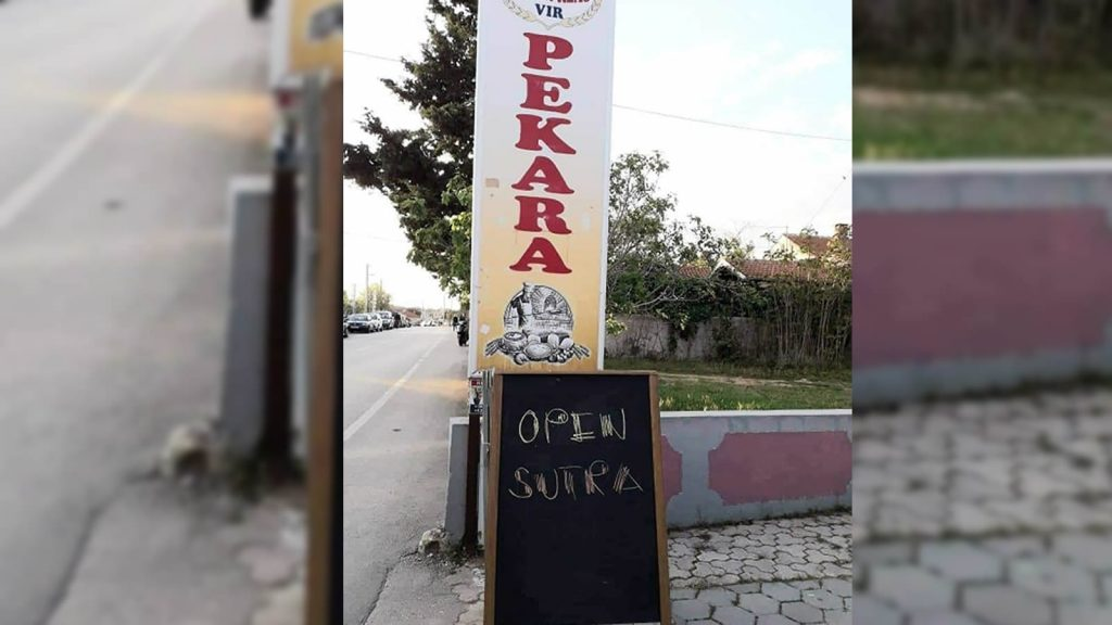 primjer loše reklame pekara open sutra