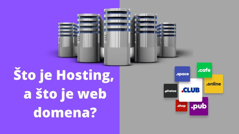 razlika između hostinga i web domene, internetske adrese