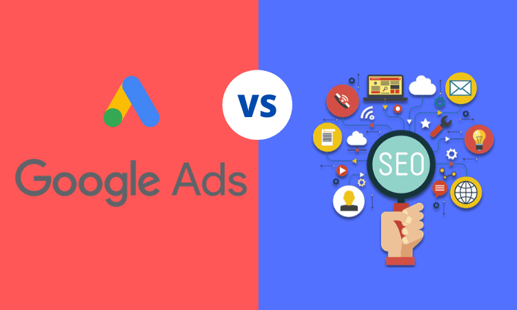 usporedba google ads i seo optimizacija za internetsku trazilicu
