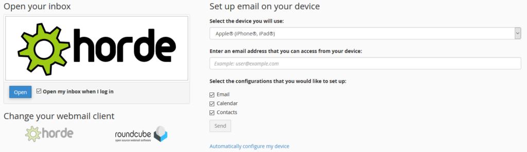 webmail aplikacije za pregled pošte